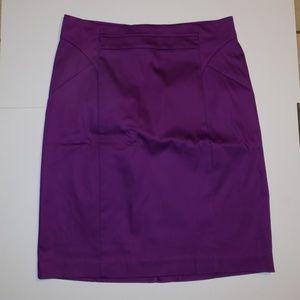 Worthington purple skirt size 14